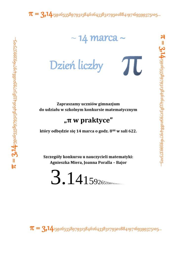 dzien liczby Pi
